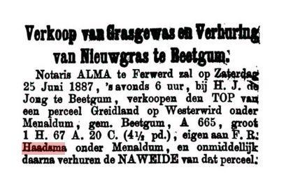 HAAD FR 1887 GERS