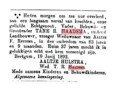 HAADSMA TR+