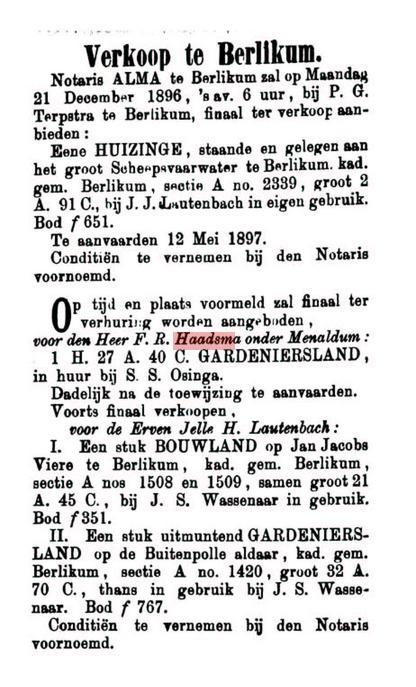 HAAD FR 1896 FERKEAP