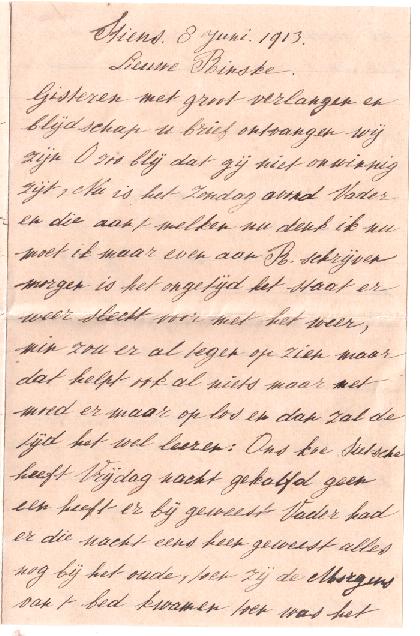 HAADSMA AALTJE R. BRIEF 8-6-1913 - 1