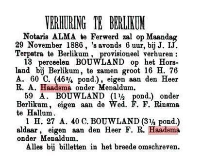 HAADSMA RA HIER9