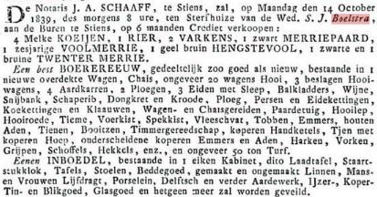 BOELSTRA BOELGUOD S.J 1839