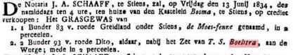 BOELSTRA GERS T.S. 1834