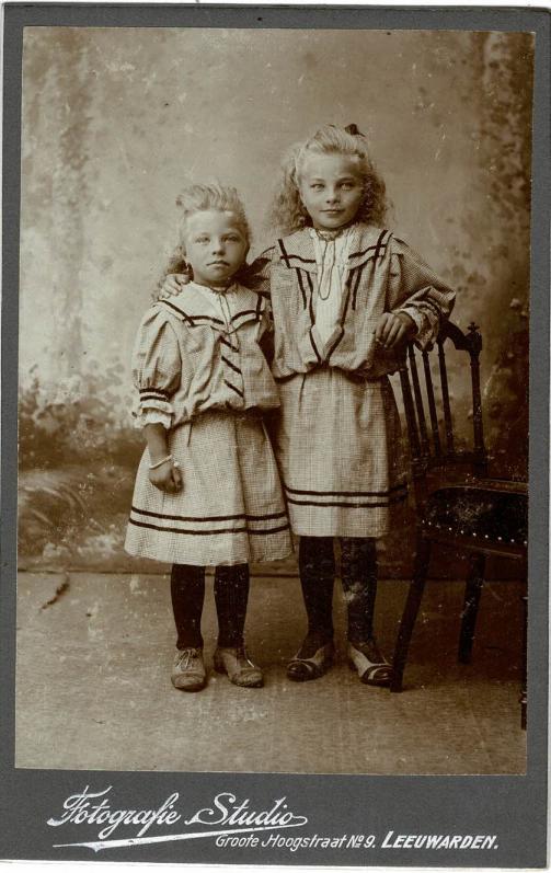 Portret Pietje en Grietje Boschma