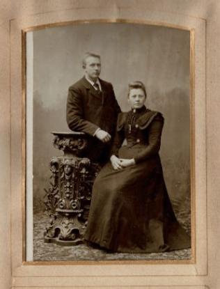 Saakje Anema en Johannes Willem Swart
