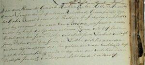 Gaele Broers Bouma oannimming achternamme yn 1811