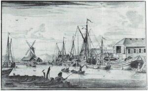 Wâldsein, tekening P.I. Portier