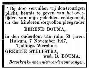 Berend Gerlofs Bouma rouadv G. Stelpstra